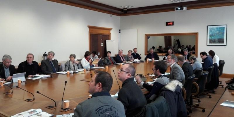 Comité syndical du 18 mars 2018 (crédit photo : SMEL)