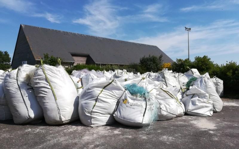 """Stockage des déchets en """"big bag"""" (@SMEL)"""