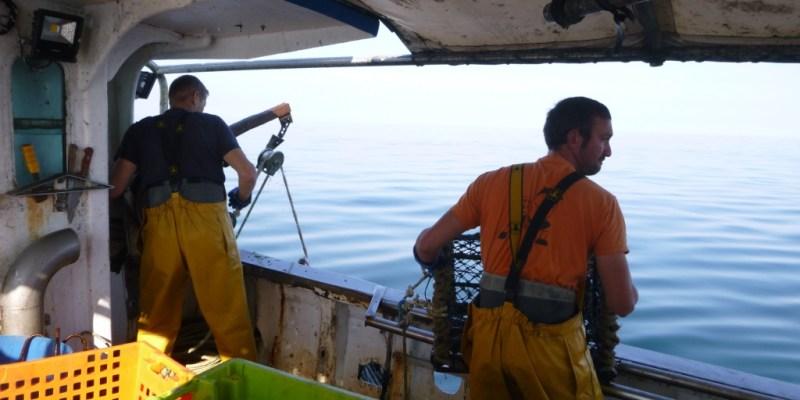 Pêche dans la baie de Granville (@SMEL)
