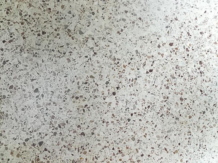 Our Terrazzo Flooring Restoration Part 1  SMELTZ HAUS