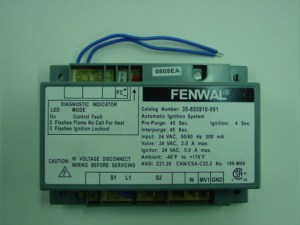 50139A Frost Fighter Fenwal Gas Primary Gas Control Auto