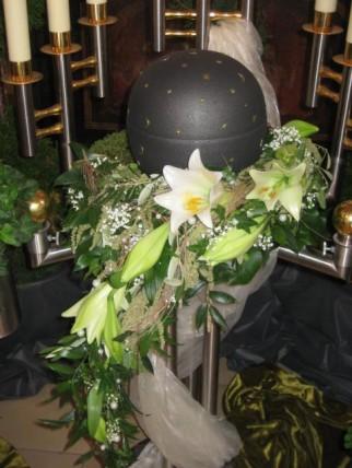 Urnenschmuck  Bestattungen Grtnerei Floristik Stefan Merks Lauchheim Aalen Westhausen