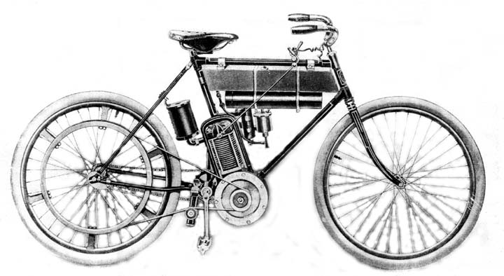 Motorcycle: Royal Pioneer Motorcycle