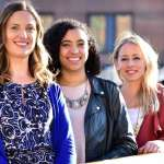GirlCrew cofounders Pamela Newenham, Aine Mulloy and Elva Carri.