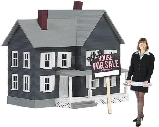 woman home buyer