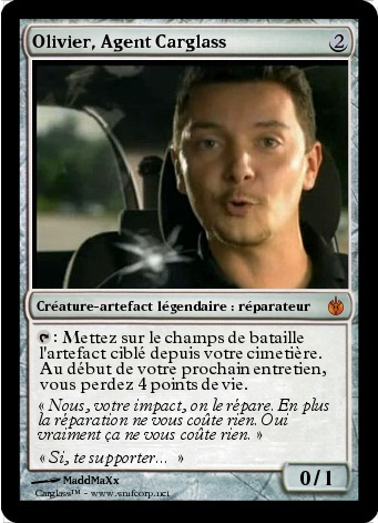 Olivier Agent Carglass  Magic the Gathering