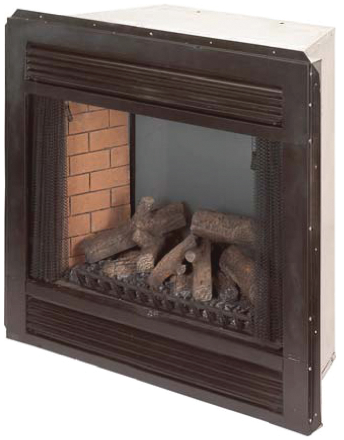 Majestic Direct Vent Gas Fireplace