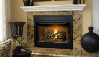 "B-Vent Superior BRT4536 36"" Custom Series Gas Fireplace ..."