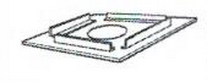 Direct Vent SV8HF Horizontal Firestop 8/11 Secure Rigid H2260