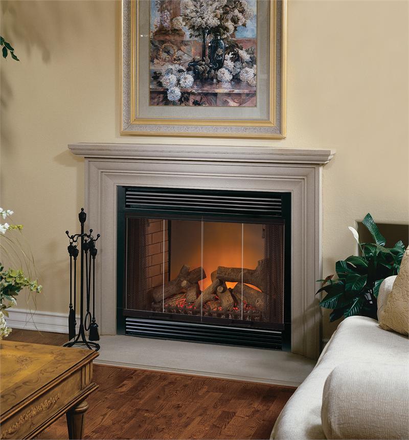 "36"" EL36LD FMI Renaissance Eastlake II Electric Fireplace"