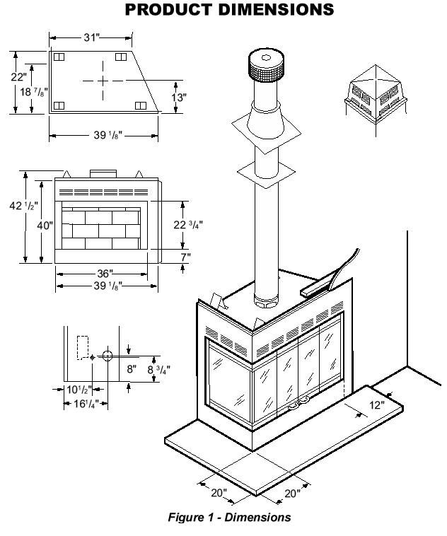 Bi-Fold Corner Glass Doors for Wood Burning Corner