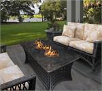 Outdoor Fire Pit Coffee Table La Costa Del Rio with ...