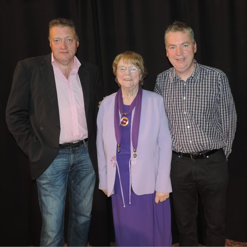 Colm O'Donnell with Bea Anna & Fergal Smyth - Official Opening