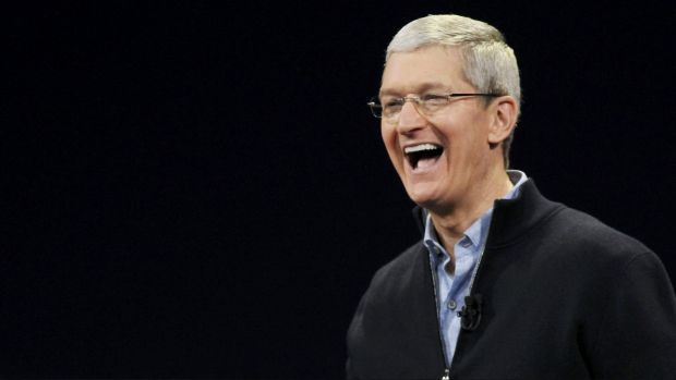 Apple CEO Tim Cook has stepped up the company's charitable efforts, but they look tiny compared to its profits.