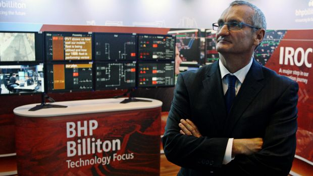 BHP iron ore president Jimmy Wilson. BHP is now the lowest-cost exporter to China.