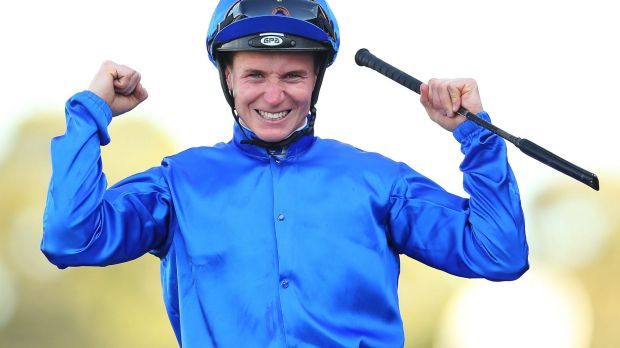What a day: James McDonald capped a great day at Rosehill by winning The BMW aboard Hartnell.