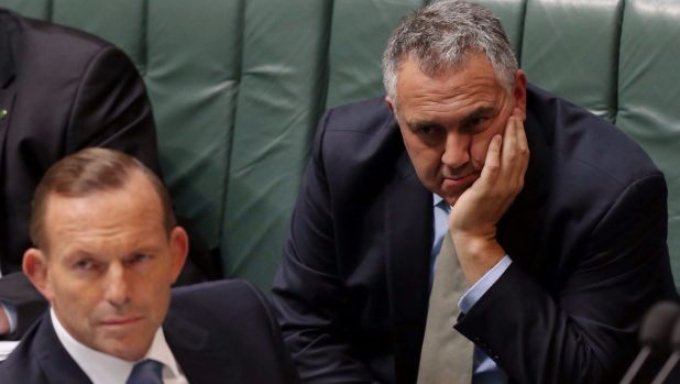 Budget woes leave Abbott vulnerable: Prime Minister Tony Abbott and Treasurer Joe Hockey.