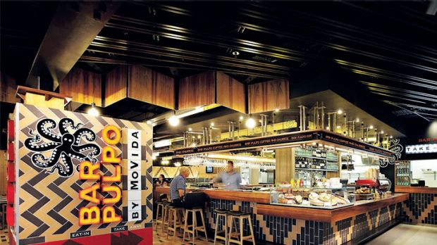 Image result for Bar Pulpo Melbourne airport