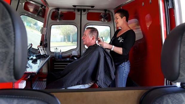 A cut above as mobile barber shaves off the overheads