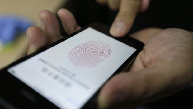 """Opener: Apple introduced """"Touch ID"""" fingerprint recognition technology to its iPhone in 2013."""