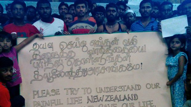 Asylum seekers from Bangladesh, Sri Lanka and Myanmar appeal to New Zealand.