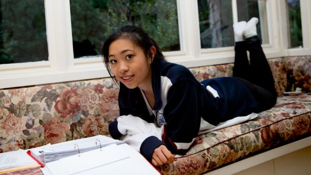 """I want to have that experience of being surrounded by dynamic people who are interested in big things."": Nikki Liang from Pymble Ladies' College is applying to Harvard, Columbia and Yale."
