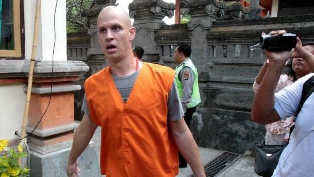 Nicholas James Langan, who shared part of a marijuana joint in Bali, has been sentenced to a year in jail.