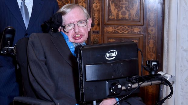 Where does information about a star that formed a black hole go to? Theoretical physicist Stephen Hawking says it goes to the event horizon on the boundary of a black hole.