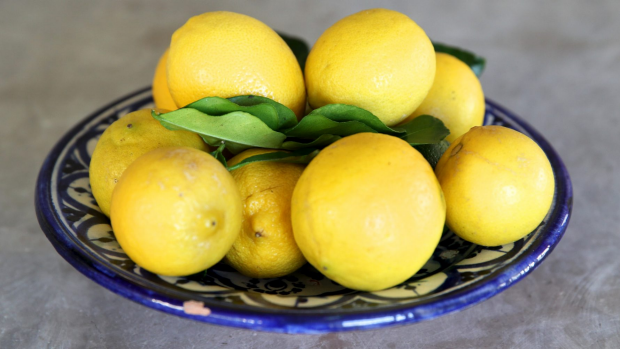 Your pearly whites aren't fans of the citric acid in lemons.