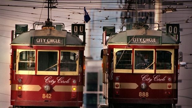 The City Circle tram is a Melbourne icon.