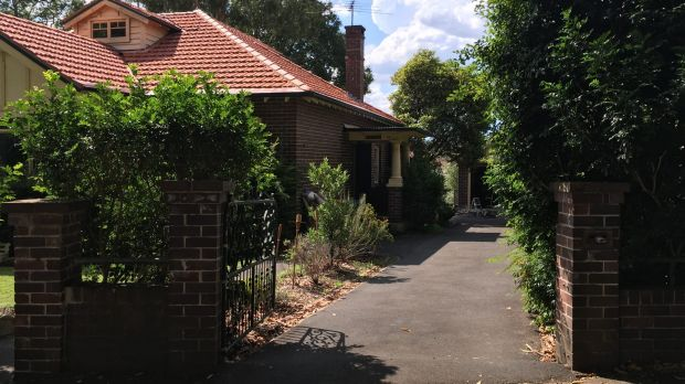 This Sydney property owned by Craig Steven Wright was searched by police on Wednesday.