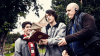 Caesar prepares to shoot with the Nowhere Boys leads.