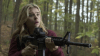 Babe in the woods: Chloe Grace Moretz in the teen sci-fi flick The 5th Wave.