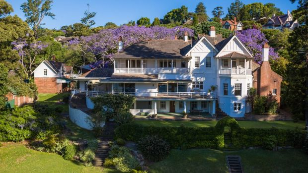 A Big Trophy, yet to be 'bagged' - 'Elaine', (or 'Elaine Gardens') in Point Piper NSW, owned by the Fairfax family (and still for sale at $80m)