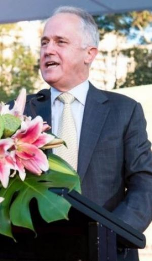 Malcolm Turnbull spoke at the opening of the Lantern Festival.