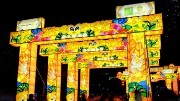 The Lantern Festival was funded by the Chinese government.