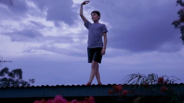 Dancer on the Roof: Mack is one of the talented school kids featured in the beautiful doco Wide Open Sky.