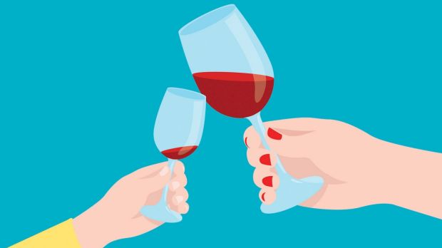 Parents may think that giving children sips of wine on holidays promote a healthy, festive attitude toward alcohol, but ...