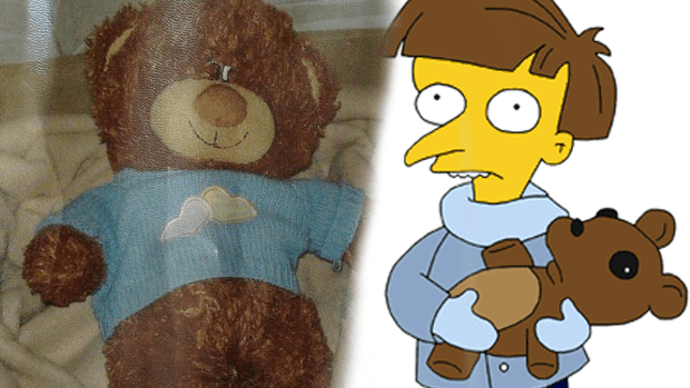 The bear share similarities with The Simpson