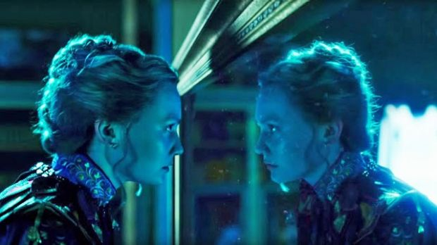Mirror, mirror: Alice (Mia Wasikowska) takes another trip in Alice Through the Looking Glass.