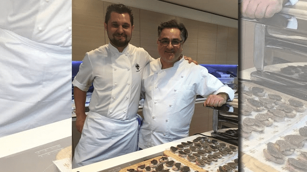 Guy Grossi and Matteo - Truffle Festival launch
