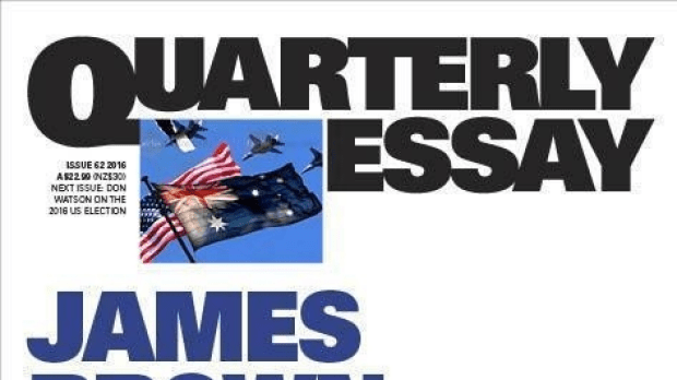 James Brown on When Australia Should Go To War.