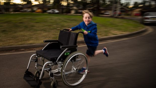 Lennon Maher is running in the City2Surf this year to raise funds to provide wheelchairs for disabled children in Sri Lanka.