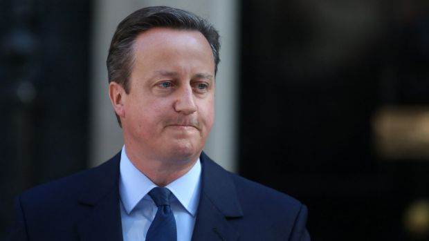David Cameron has announced he's leaving parliament, effective immediately.