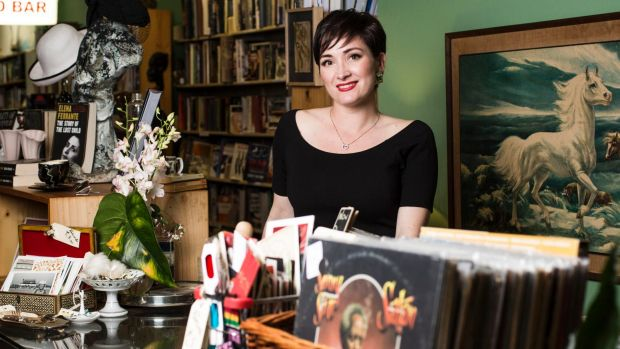 Tamara Kennedy co-owns Grand Days Books, Records and Collectables and will vote in the city elections.