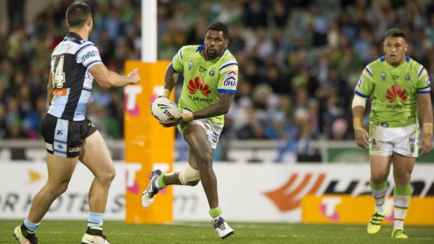 Winger Edrick Lee is confident the Raiders can move on from their loss to Cronulla.