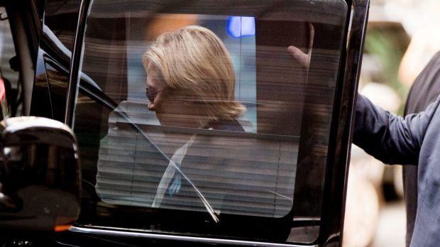 Image result for Hillary Clinton collapses & later is diagnosed with pneumonia