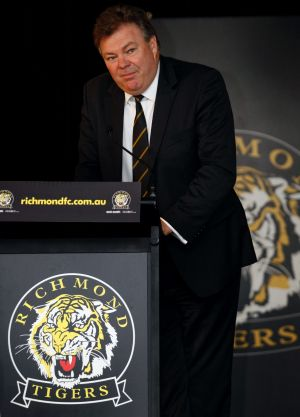 Back at Tigerland: Neil Balme.