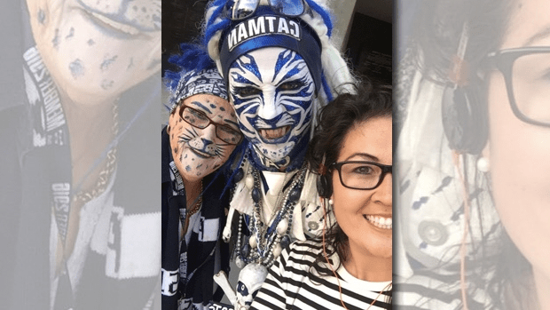 3AW Drive Producer, Alyssa Allen met some enthusiastic Cats fans.
