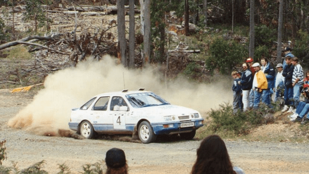Ford Sierra XR6 4WD Rally Car. (Only one in the country)